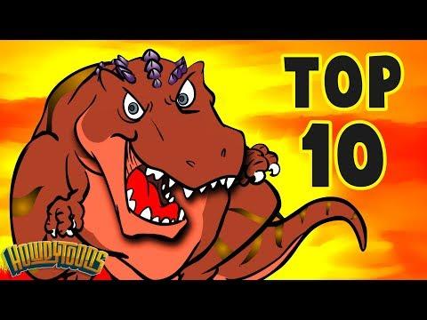 Top 10 Dino Songs - Dinosaur Songs For Kids From Dinostory By Howdytoons