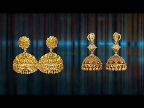 Gold Earrings Collection Diamond Earring Design Earring Designs clip16