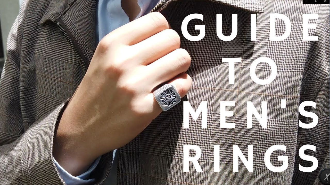 Mens Guide To Rings