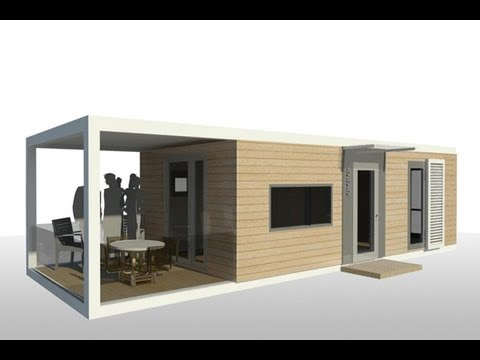 屳 +33 (0)6 30 66 78 63 - Maison container 42M² Belgique - YouTube
