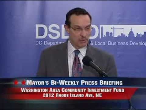 Mayor Gray Announces DC's Newest Main Street Corridor, 12/18/13