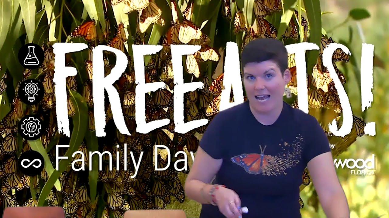 November's Free Arts! Family Day Activity Tutorial