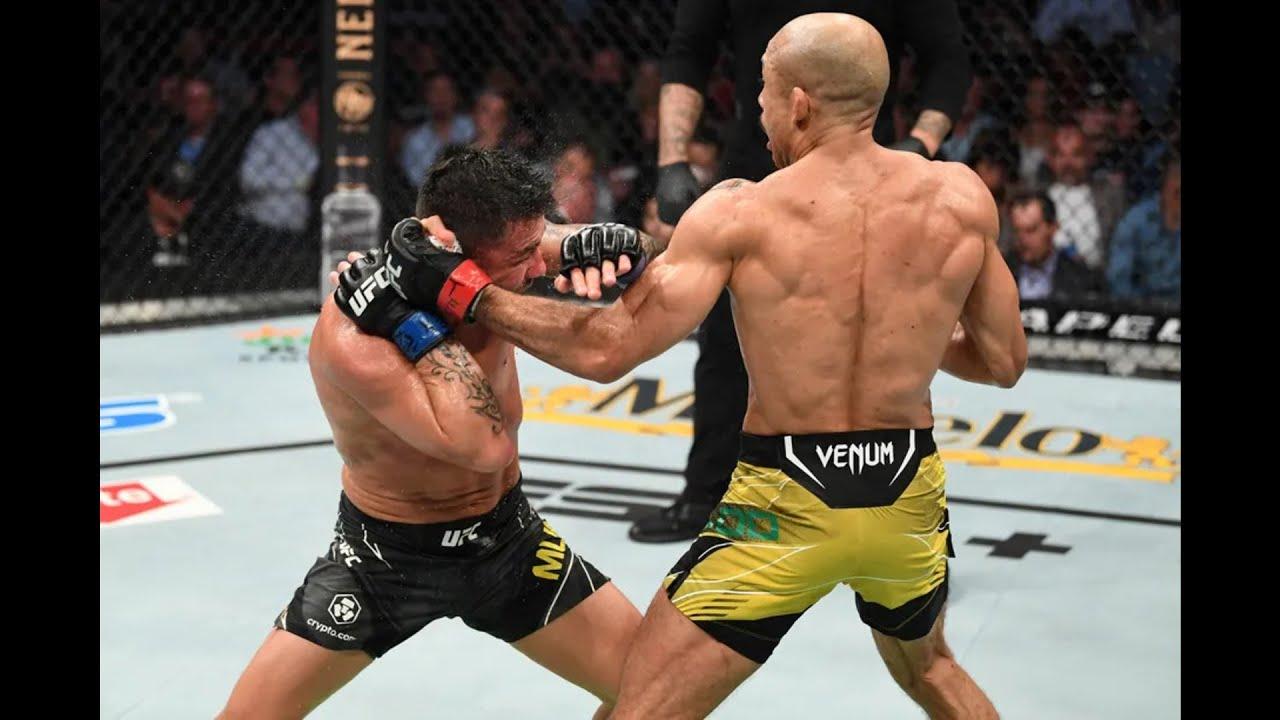 Jose Aldo vs. Pedro Munhoz full fight video highlights