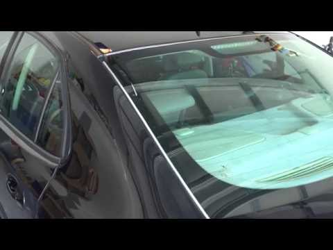 Saab 9-3 –  How To Replace Rear Window Trim
