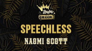 "Naomi Scott - Speechless (Full) (Karaoke Version) From ""Aladdin"" 2019 SINGING QUEEN"