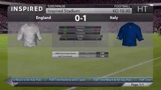 PES 2017 Leaked Official Gameplay England vs italy + FREE DEMO!!!