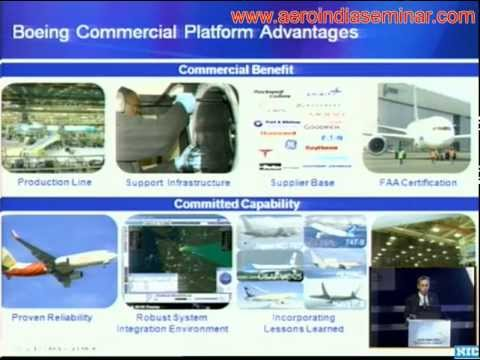 Boeing's Commercial To Military Derivative Applications [Aero India 2013]