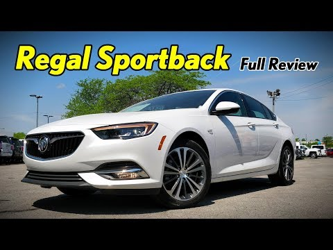 2018 Buick Regal Sportback: FULL REVIEW | Essence, Preferred II, Preferred & 1SV