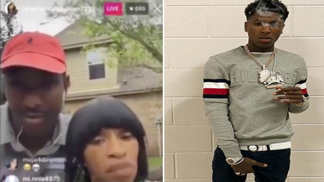 NBA Youngboy's HERPES got his MOM on instagram Defending him
