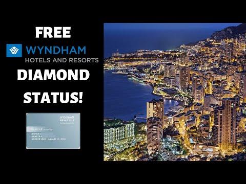 FASTEST Way To Get Wyndham Rewards DIAMOND Status
