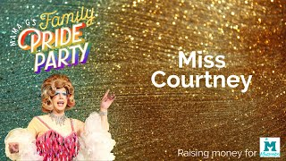 Miss Courtney at Mama G's Family Pride Party 2020