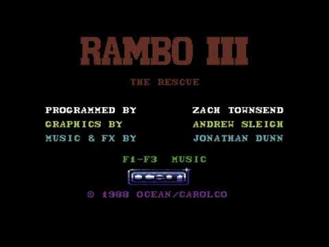 Rambo III Title Music for the Commodore 64