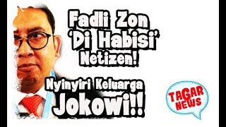Download Video Nyinyiri Keluarga Jokowi, Fadli Zon 'Dih4bisi' Netizen MP3 3GP MP4