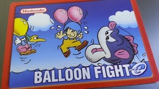 Classic Game Room - BALLOON FIGHT review for Nintendo e-Reader