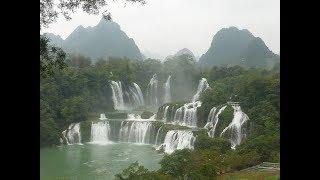 Video LIVE: Tour of a Vietnamese bazaar near the gorgeous Detian waterfall in South China. download MP3, 3GP, MP4, WEBM, AVI, FLV Juli 2018