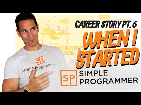 Career Story Pt. 6: When I Started Simple Programmer