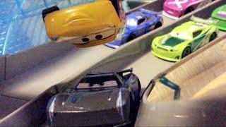 Disney Pixar's Cars 3 Florida 500 Final Lap Remake | Cruz Flips Over Jackson