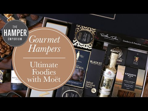 The Hamper Emporium   Ultimate Foodies with Moët from YouTube · Duration:  49 seconds