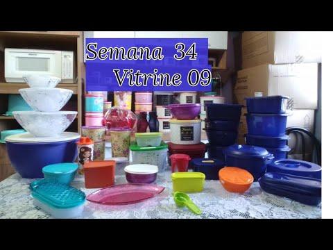 Abrindo Caixa Tupperware Semana 34 Vitrine 09 Youtube
