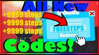 All New 2019 Speed City Codes! -🔥[DOUBLE STEPS] | ROBLOX
