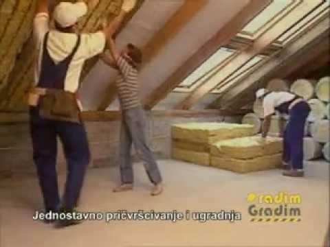 URSA - izolacija kosog krova.wmv