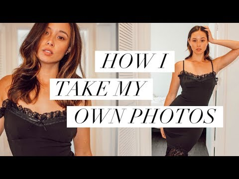 How To Take Your Own Photos | Instagram Pictures BTS | Aja Dang
