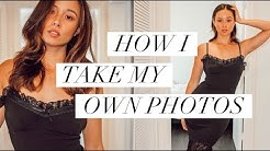 How To Take Your Own Photos | Photography Tips | Aja Dang
