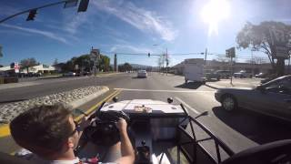 Exomotive Exocet trip around the block