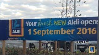 Aldi New Store Opening – Ipswich 1st September 2016