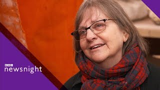 Phyllida Barlow: The sculptor taking over the art world - BBC Newsnight