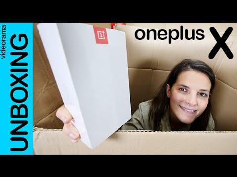 OnePlus X unboxing en español