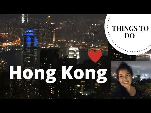 HONG KONG - TOP THINGS TO DO ( MY JOURNEY )