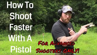 How To Shoot Faster With A Pistol | Trigger Prep