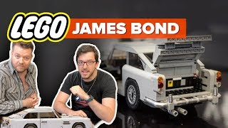 Lego Aston Martin DB5: CNET editors react