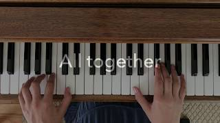 Luis Fonsi Despacito Ft. Daddy Yankee Simple Piano Chords How to play