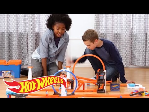 Do YOU Accept the Stunt Box Challenge?   Challenge Accepted!   Hot Wheels