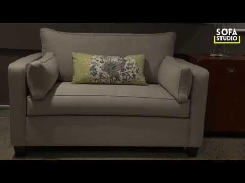 Paris Single Sofa Bed | Sofa Studio Sydney | Australian Made Sofabeds | Sofabeds On Sale