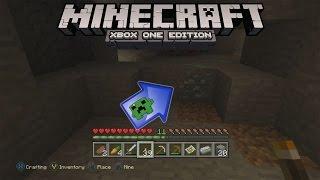 Minecraft: Xbox One Edition - Coal, Iron, Emeralds & DIAMONDS!!! - Part 4