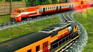 Мультики для детей про машинки и поезда развивающи...