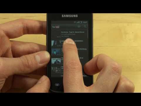 Samsung S5660 Galaxy Gio Test Internet