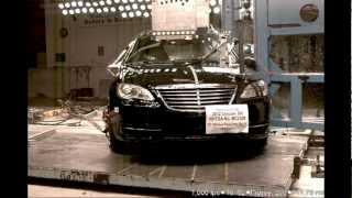 Chrysler 200 2012 Side Pole Crash Test Nhtsa Crashnet1 Youtube