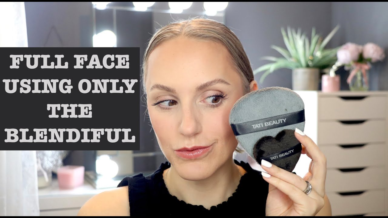 FULL FACE USING ONLY THE BLENDIFUL BY TATI BEAUTY