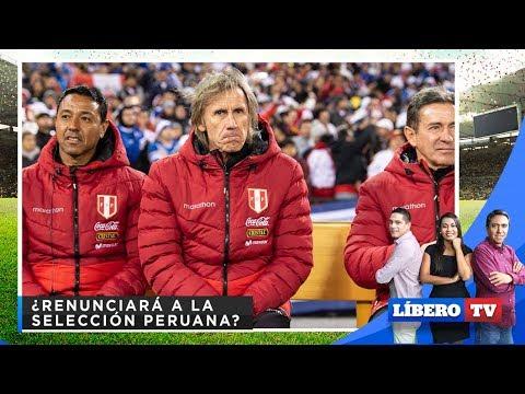 ¿Ricardo Gareca renunciará a la Selección Peruana? - Líbero TV from YouTube · Duration:  24 minutes 18 seconds