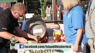 Island Oktoberfest Ceremonial Tapping of the Keg