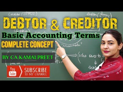 Debtors and Creditors (Complete Concept)