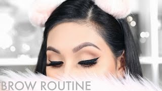 UPDATED BROW ROUTINE | BEAUTYYBIRD