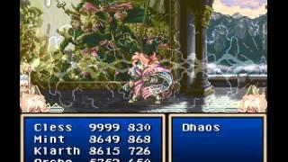 Tales of Phantasia (SNES)-Dhaos Final Battle