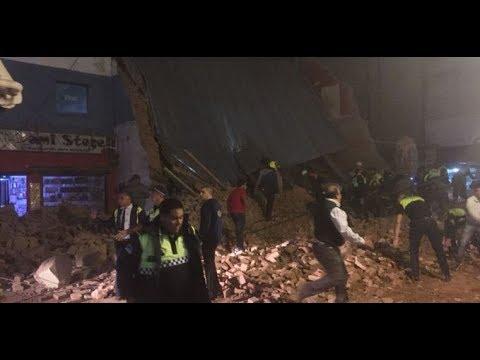 Se derrumbó un cine en Tucumán: 3 muertos