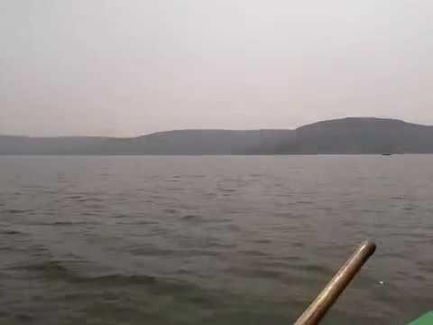 Kollapur ____ Somashilla boat Ride in Krishna River