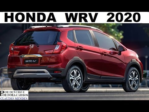 HONDA WRV 2020 PREÇOS CORES VERSÕES MUITOS DETALHES